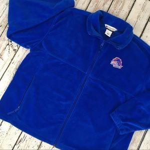 Columbia Boise State Idaho Fleece Jacket Full Zip